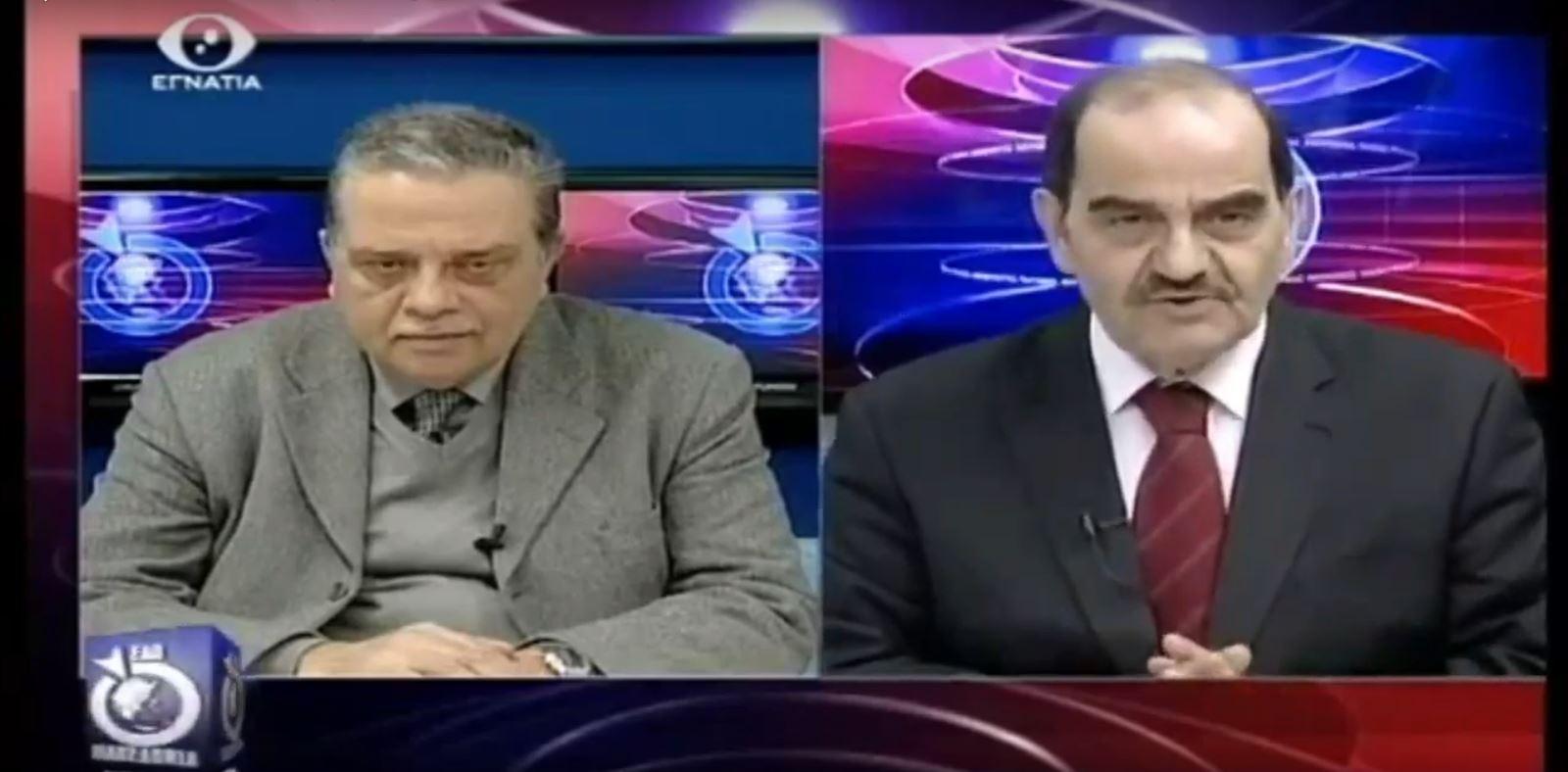 21-2-2019 Συνέντευξη στο EgnatiaTV στην εκπομπή Εδώ Μακεδονία με τον Αντώνη Οραήλογλου