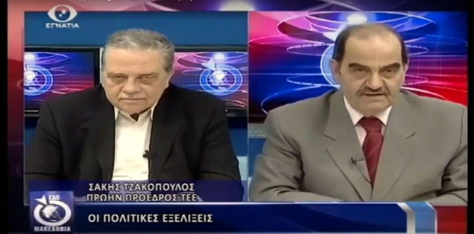 29-3-2019 Συνέντευξη στο EgnatiaTV στην εκπομπή, Εδώ Μακεδονία