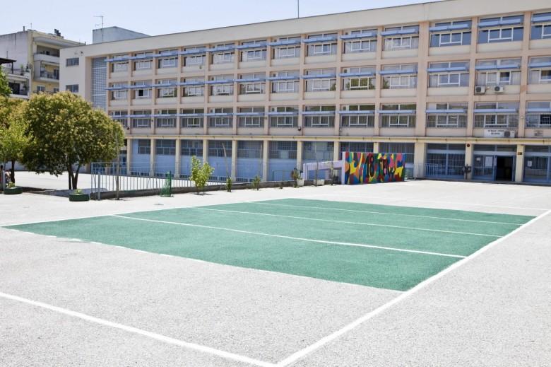 Σχολικές αυλές στη Θεσσαλονίκη